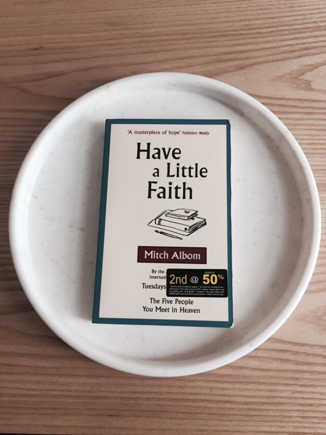 have a little faith book